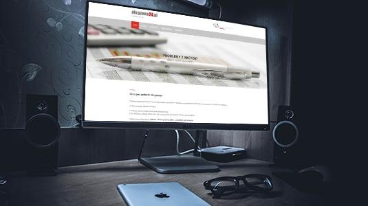 akcyzowe24 - miniaturka projektu strony internetowej www