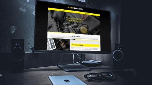 Strona internetowa www, realizacja